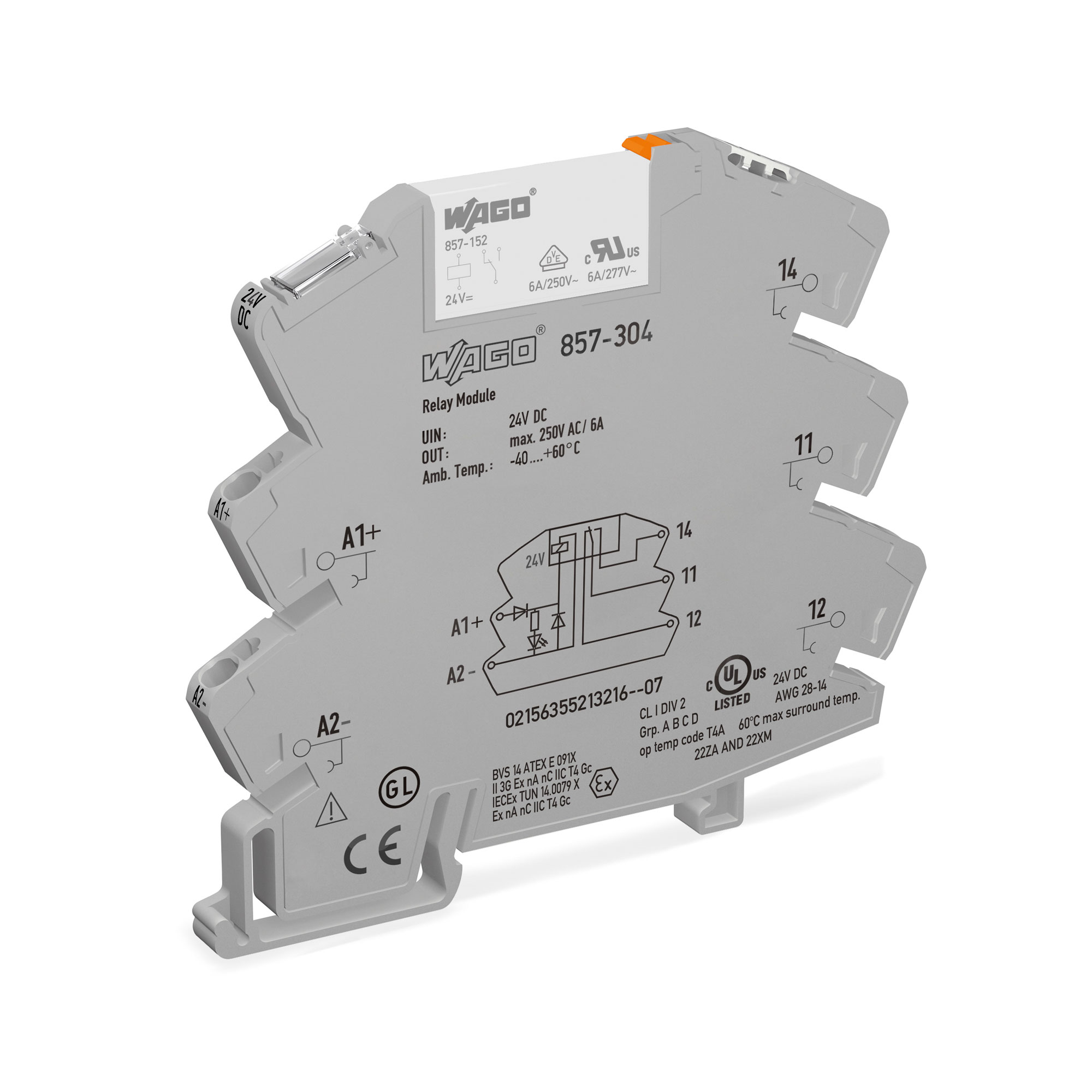 Wago Relay And Optocoupler Modules For A Wide Range Of Through An Circuit Electronic Projects Sockets With Miniature Switching Or Solid State 857 Series