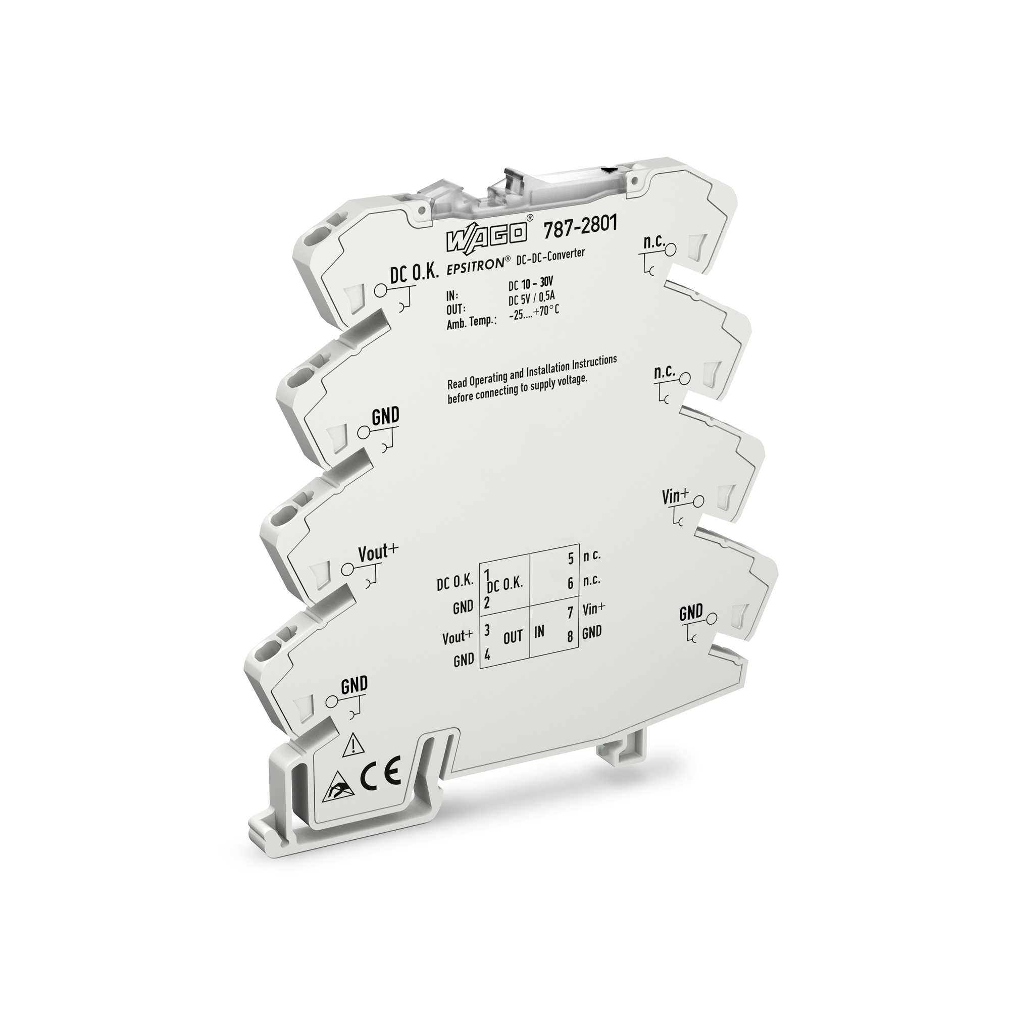 Wago Power Supplies For All Industrial Applications Uninterrupted Supply Ups Circuit Electronic Projects Epsitron Dc Converters
