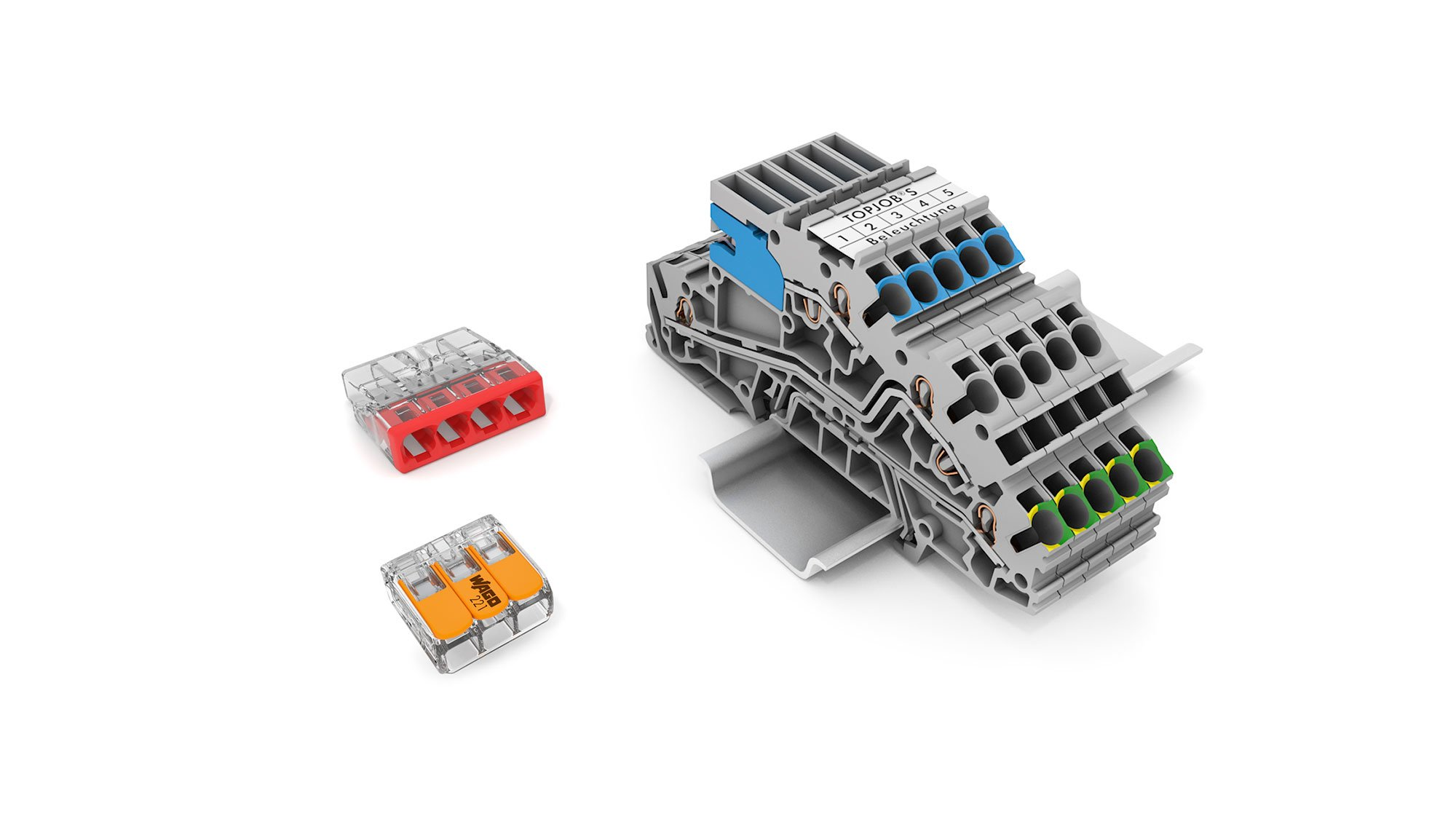 Wago Installation Terminal Blocks And Connectors Simple Wiring 2 Gang Way Lighting Circuit Diagram All Products