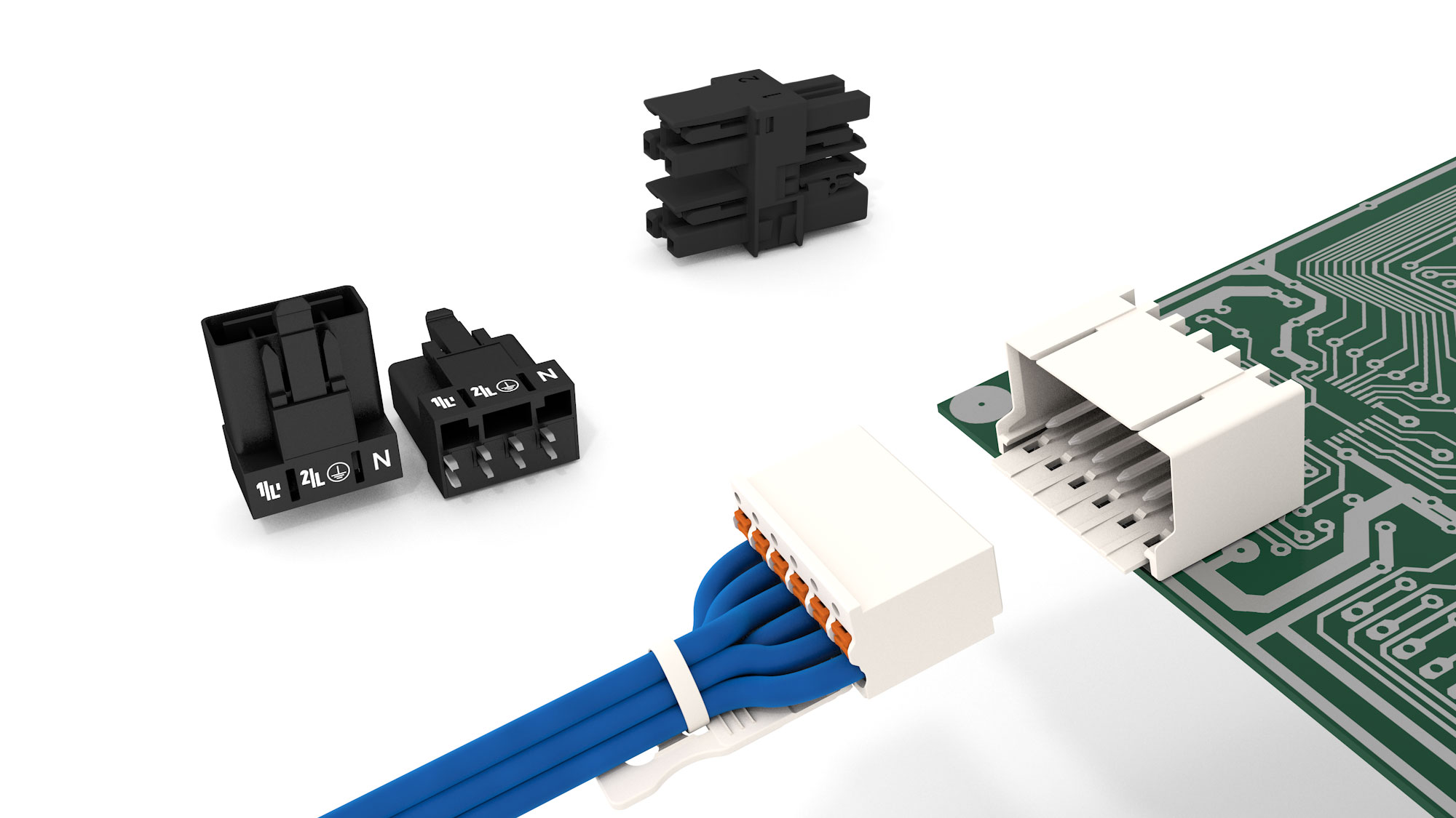 Wago Pluggable Connectors Different Connector Systems Printed Circuit Board Supply Domestic And Offshore All Products