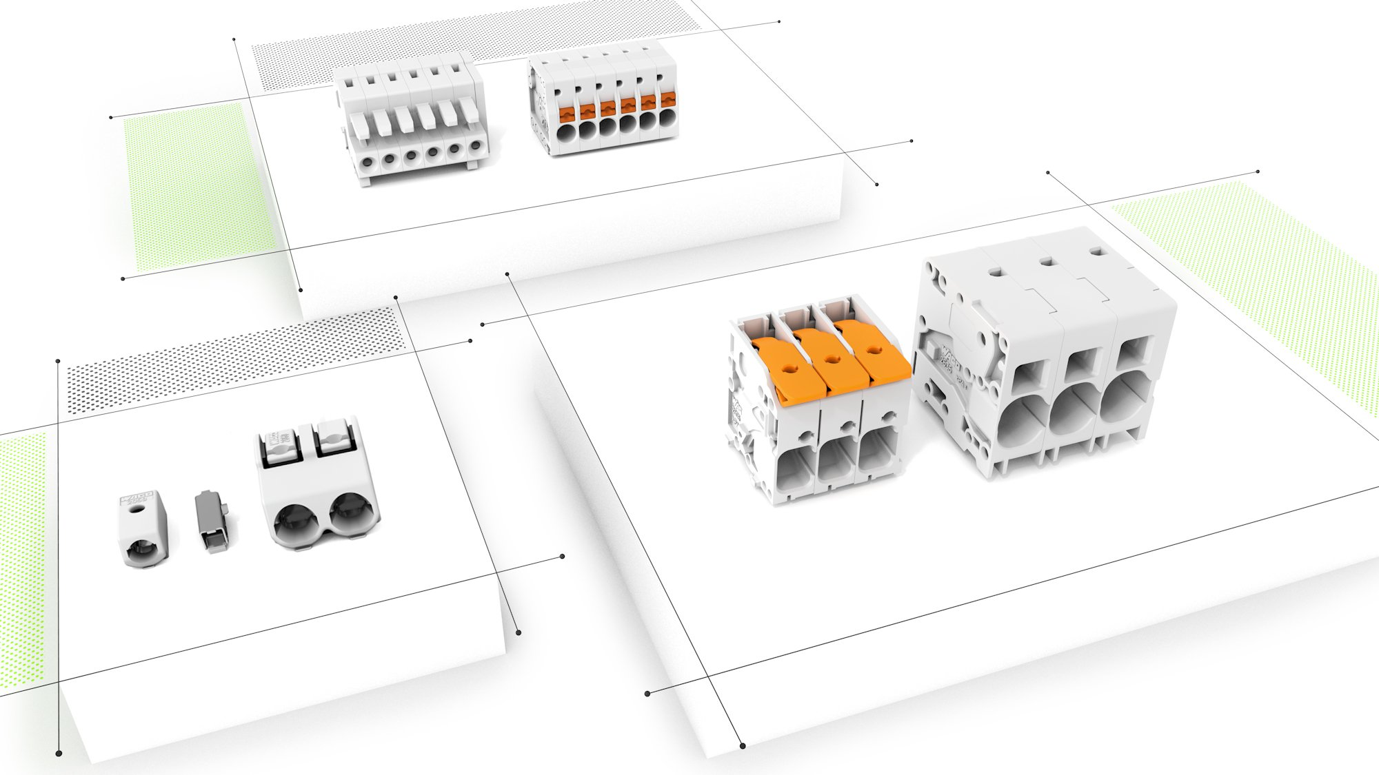 Wago Electrical Interconnections Easy Safe Maintenance Free Industrial Training Control Pcb Terminal Blocks And Connectors