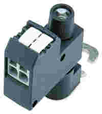 Power tap; for busbar; with fuse; Mounting screw M6