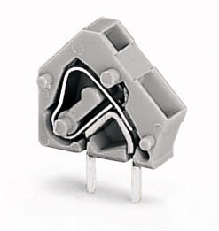 Stackable PCB terminal block; 2.5 mm²; Pin spacing 5/5.08 mm; 1-pole; CAGE CLAMP®; commoning option