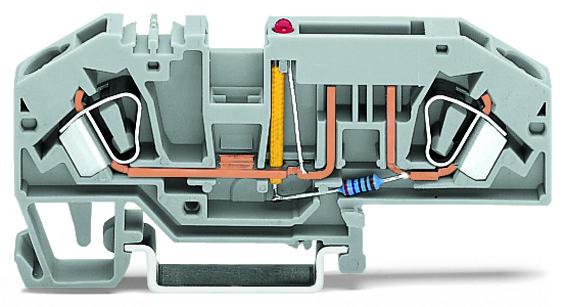 9391946104862 wago 2 conductor fuse terminal block for mini automotive blade