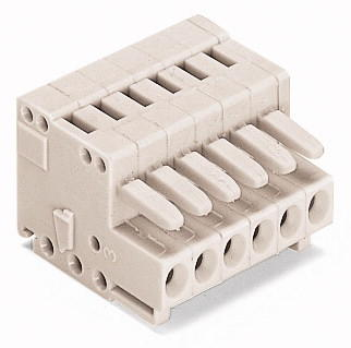 1-conductor female plug; 100% protected against mismating; 1.5 mm²; Pin spacing 3.5 mm; 4-pole