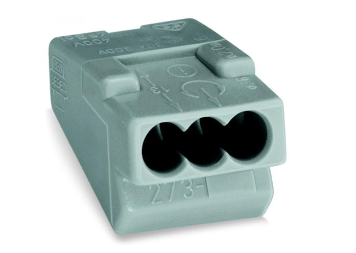 WAGO | PUSH WIRE® connector for junction boxes (273-403)