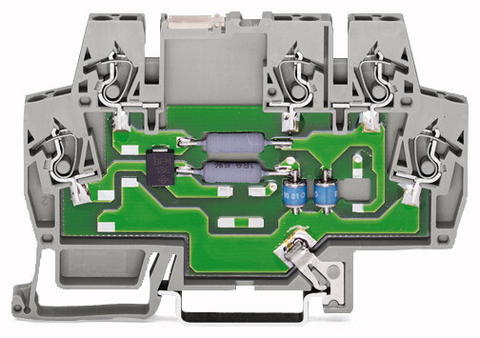 Terminal block; IT MDHF 6; PROFIBUS networks; 5 VDC
