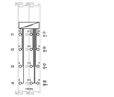 WAGO | 3-Phasen-Leistungsmessung (750-495)