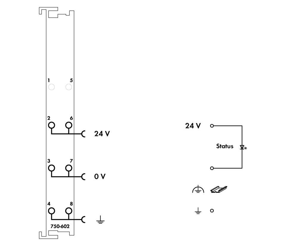 Wago Power Supply 750 602 24v 5a Circuit Diagram 24 Vdc