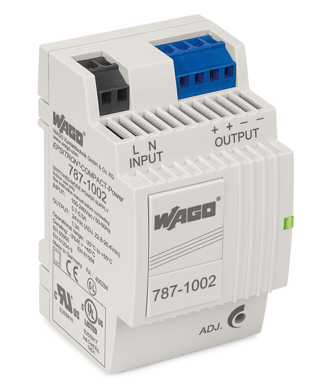 Wago Switched Mode Power Supply 787 1002 Topic Relays And Loaded From Same Source Read 2215 Epsitron Compact 1 Phase 24 Vdc Output Voltage 13 A Current