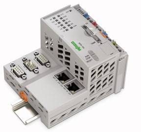 Controller PFC200; 2 x ETHERNET, RS-232/-485, CAN, CANopen, PROFIBUS Slave