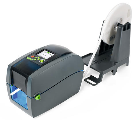 Thermal transfer printer; smartPRINTER; for complete control cabinet marking; 300 dpi