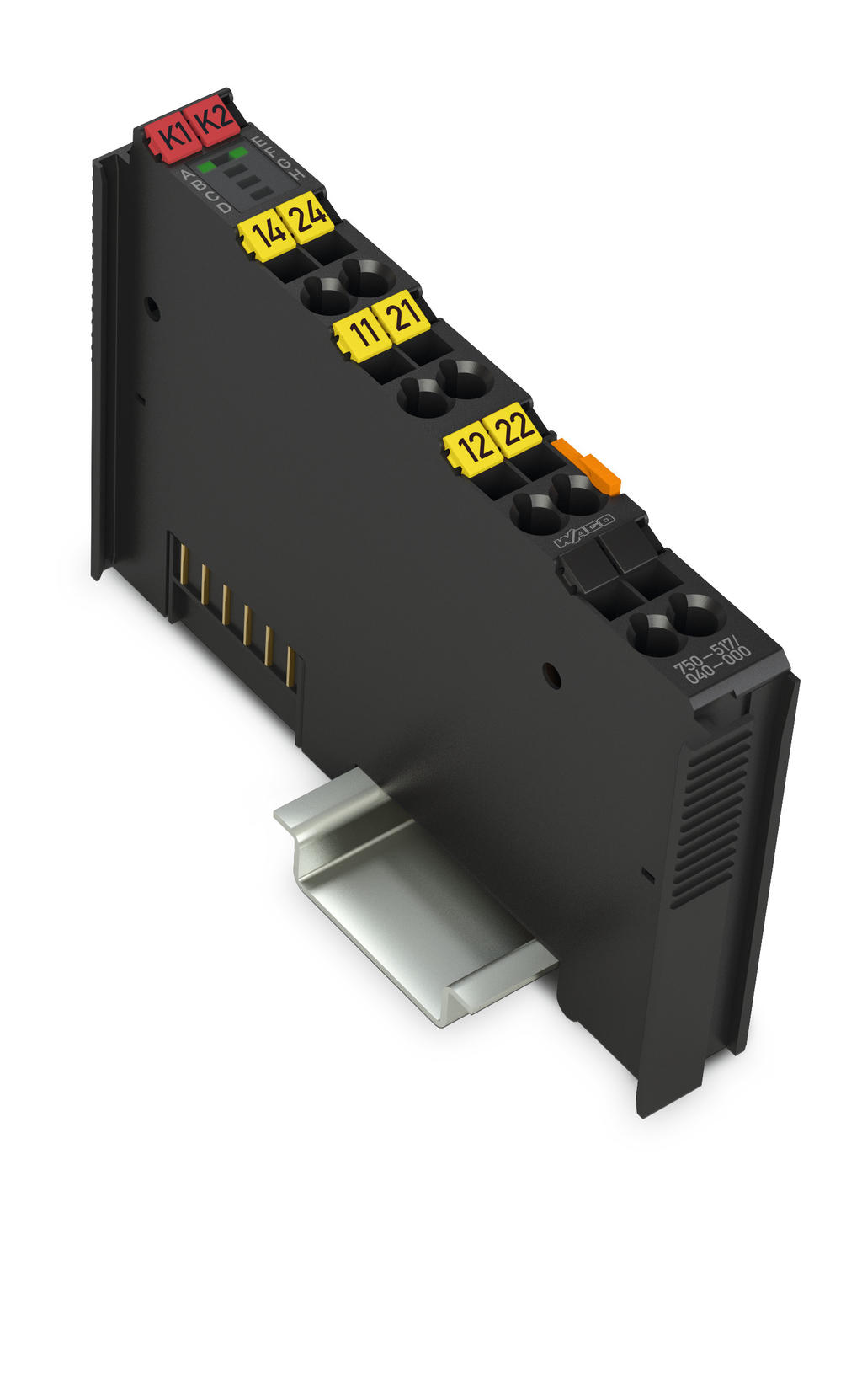 Wago 2 Channel Relay Output 750 517 040 000 Electric Device Ac 250 V 1 A Changeover Contacts Extreme