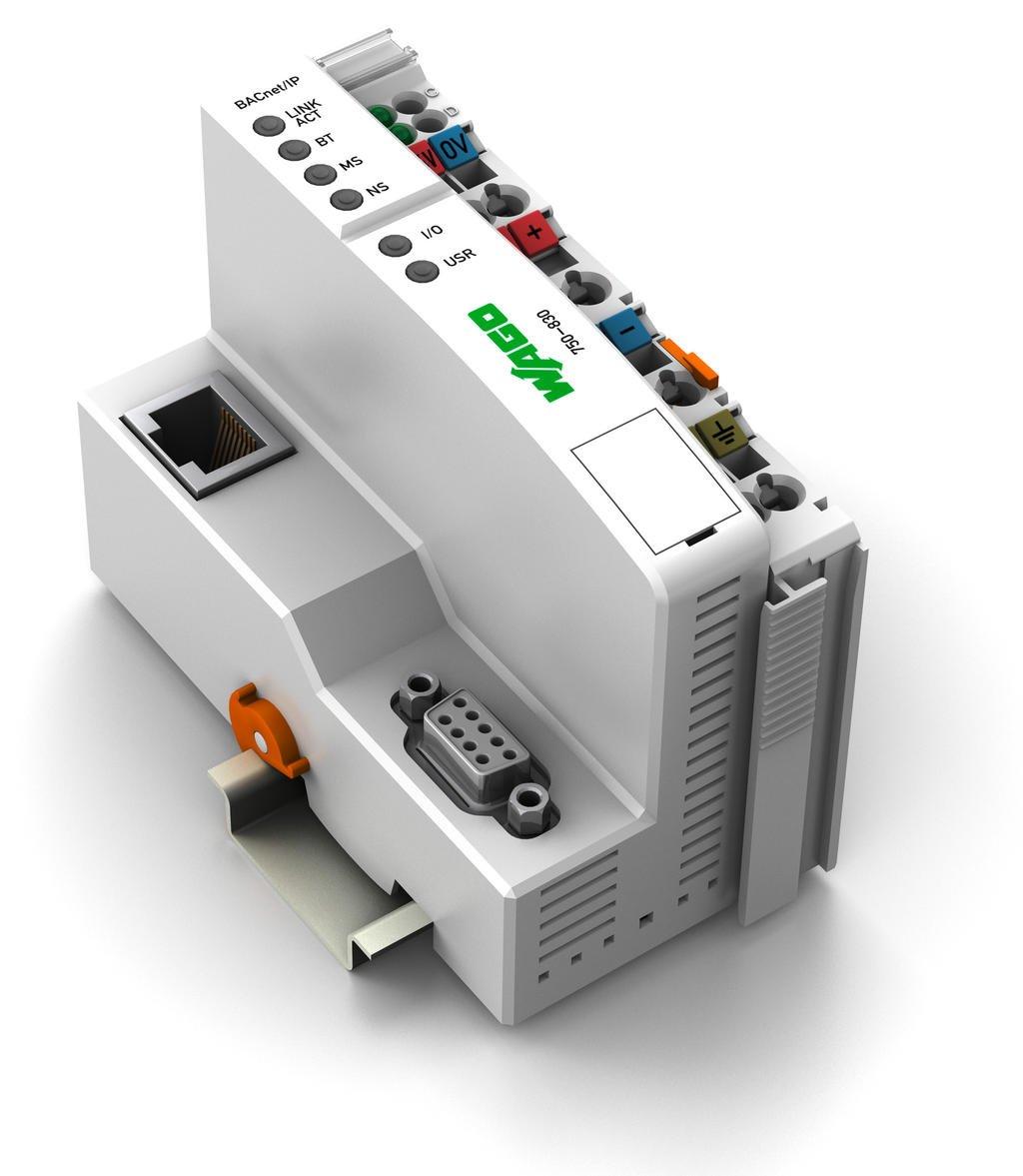 Wago-i/o-system 750 programmable fieldbus controller ethernet /100.