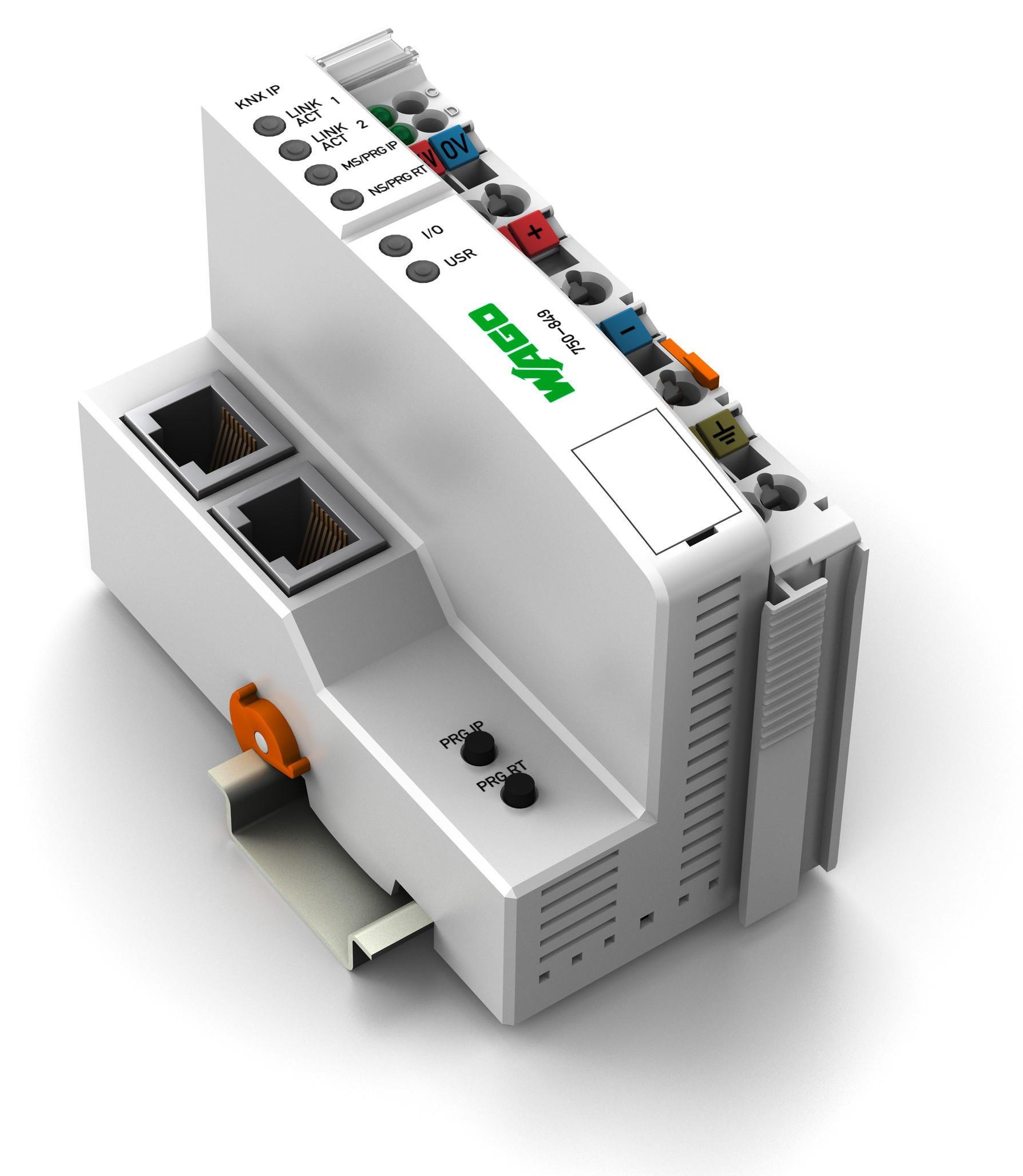 Wago   controller knx ip (750-849).
