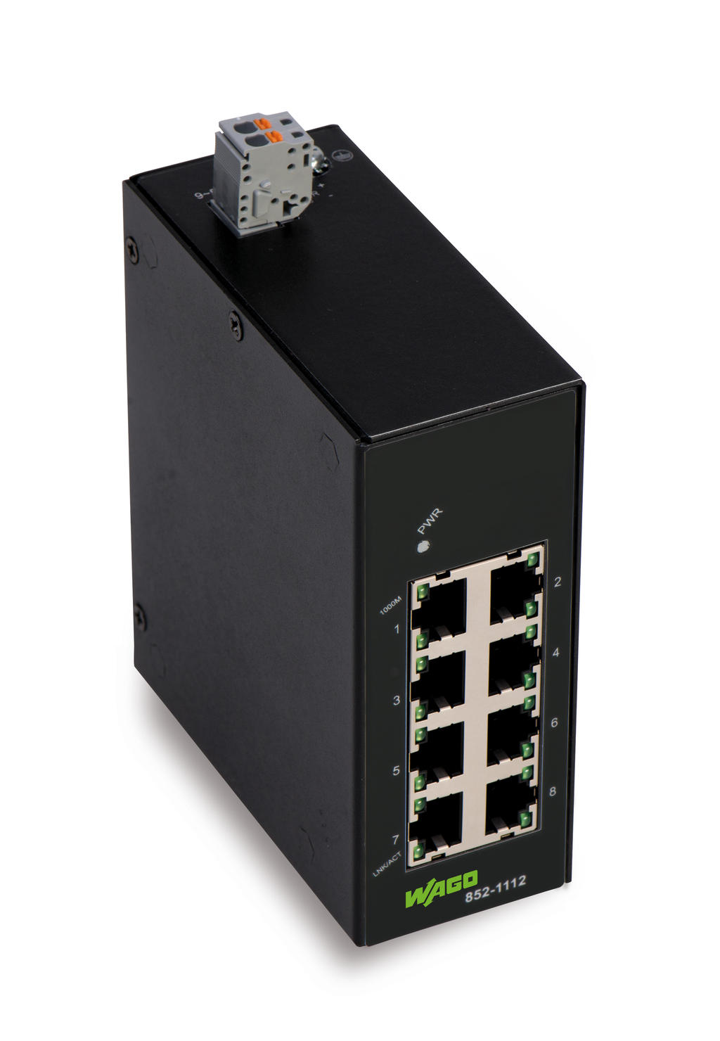 Industrial unmanaged ECO switch; 8-Port 1000Base-T
