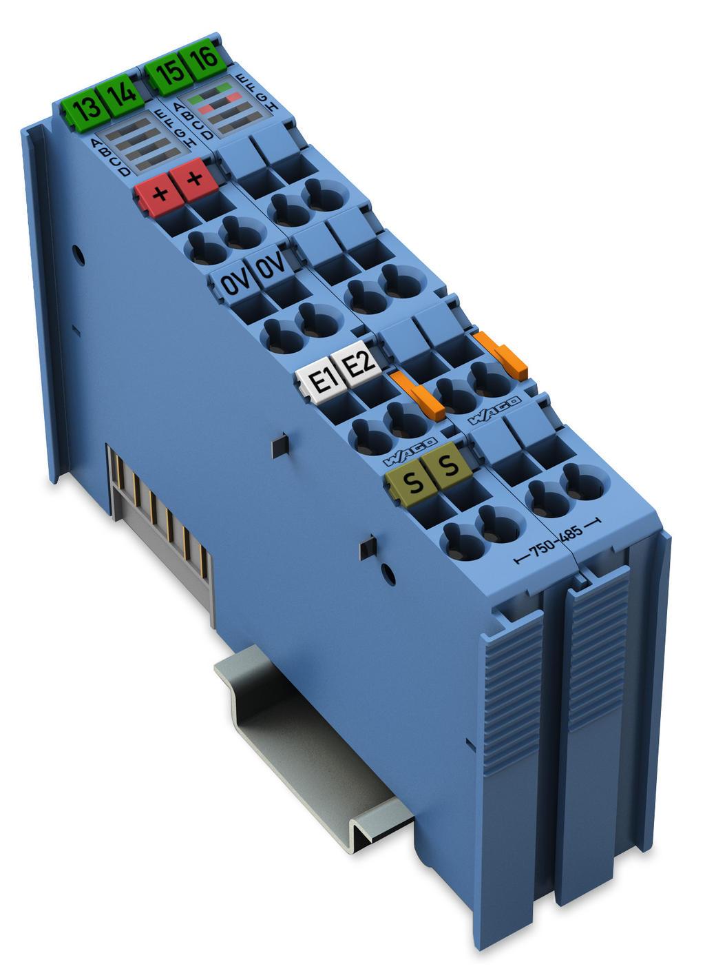 WAGO   2-channel analog input (750-485)