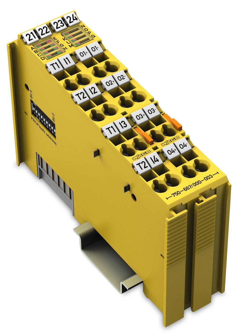 Wago Fail Safe 4 Channel Digital Input Output 750 667 000 003 Perform Short Circuit Testing On All Power Circuits And Plc Outputs 24 Vdc 2 A Profisafe V20 Ipar
