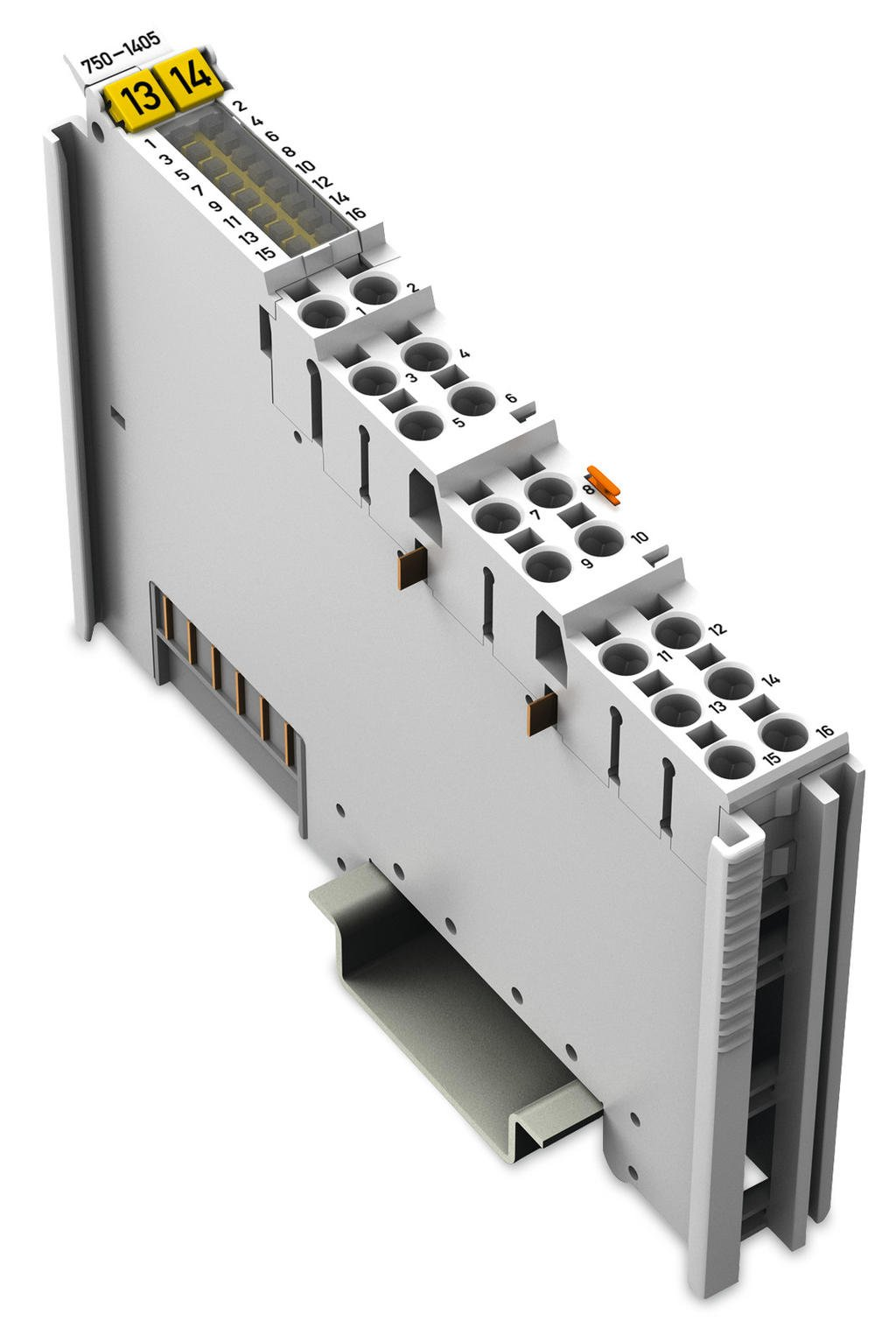 16-channel digital input; 24 VDC; 3 ms
