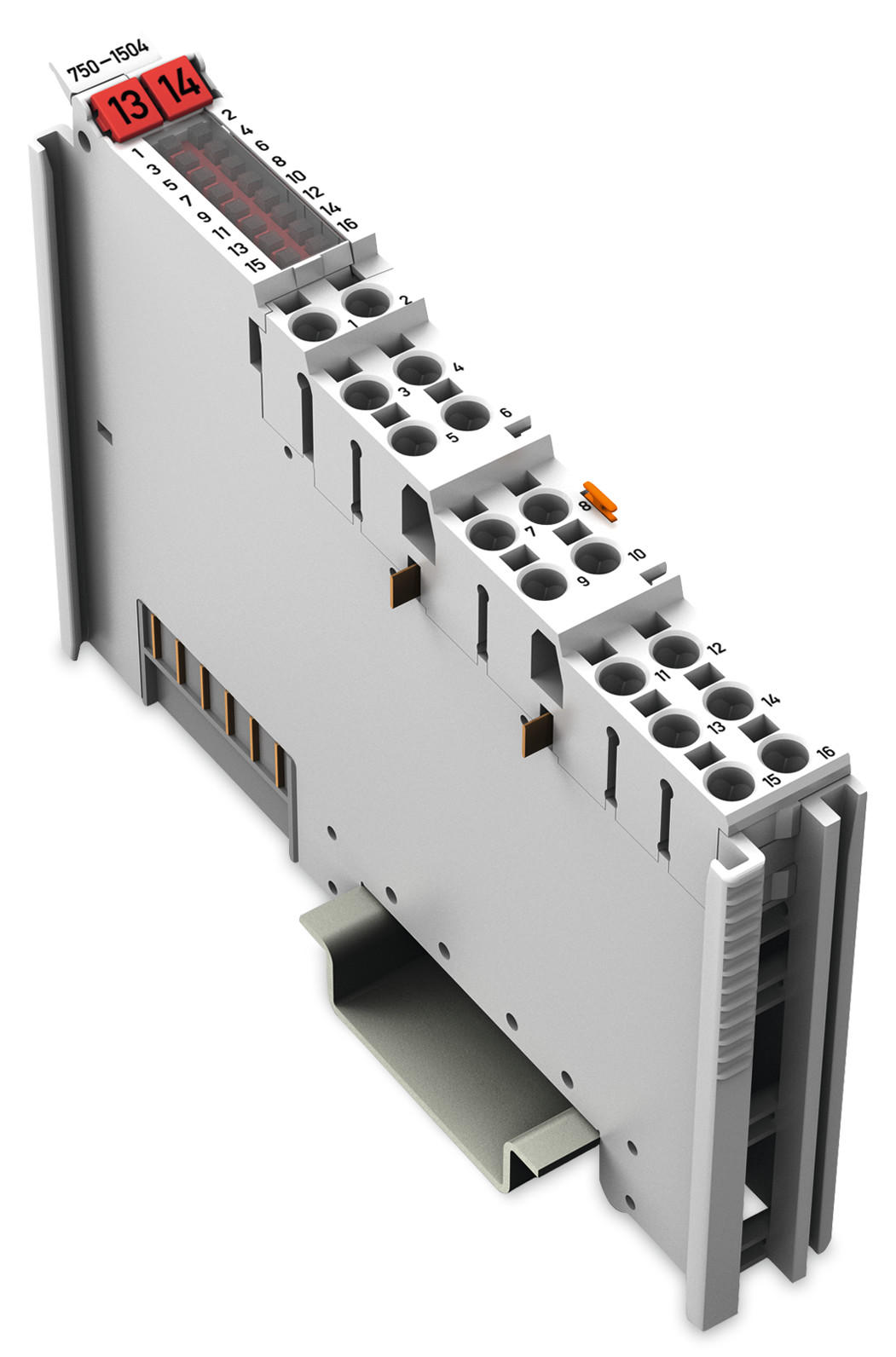 16-channel digital output; 24 VDC; 0.5 A