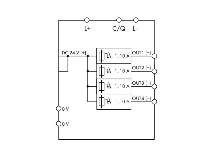 Wago Electronic Circuit Breaker 787 1664 000 080