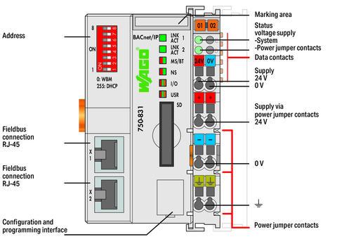 Bacnet Wiring - Wiring Diagram Sheet on