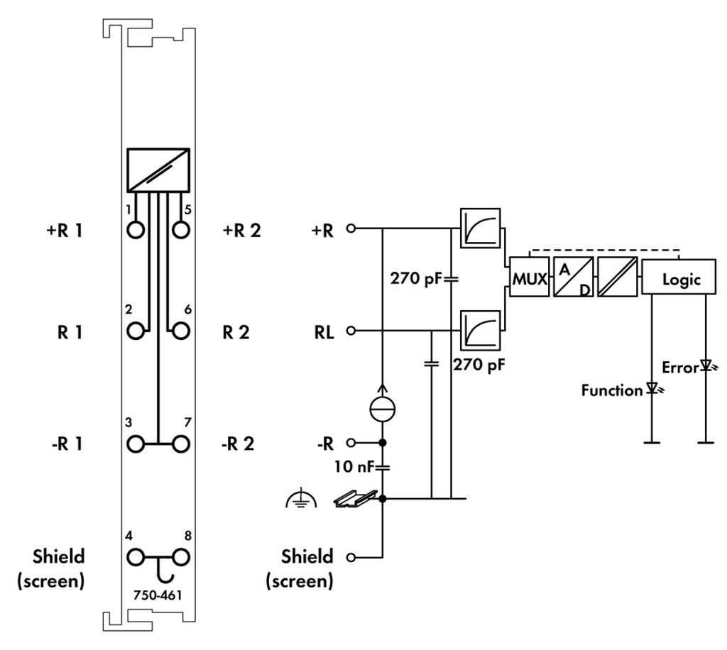 pt100 rtd diagram